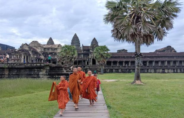 Buddhism Temple , Siem Reap Cycling Tour