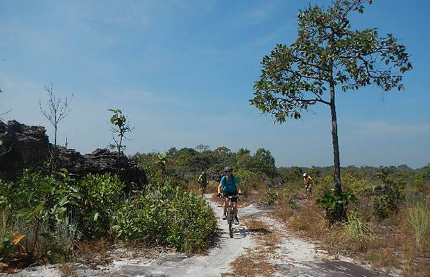 Off Tracks of Kulen Mountain, Siem Reap Cycling Tour