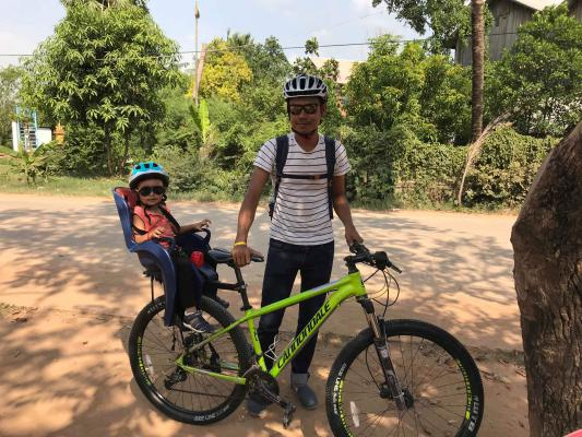 Countryside Family cycling Tour, Siem Reap Cycling Tour