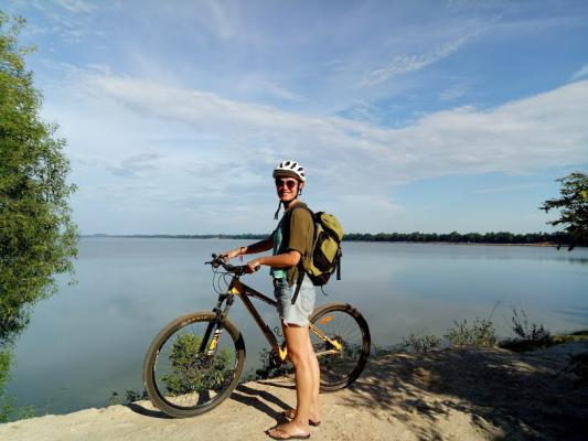 West Baray Siem Reap, Siem Reap Cycling tour